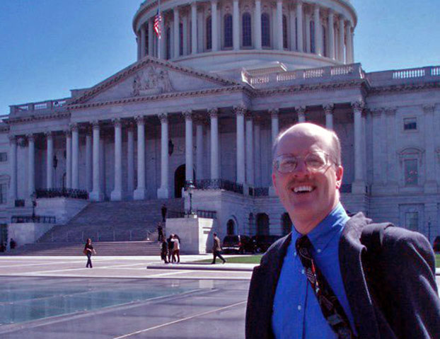 Randall Hertzler lobbies on Capital Hill