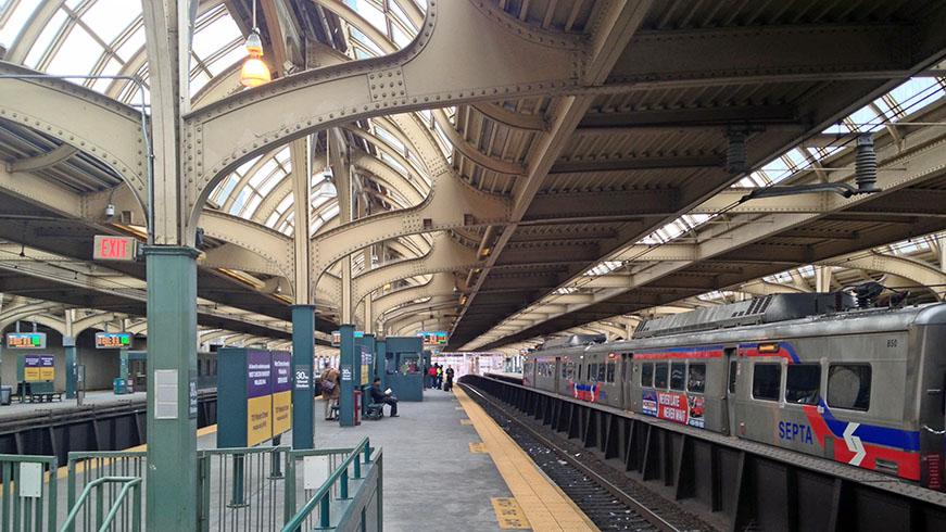 Philadelphia 30th street SEPTA station