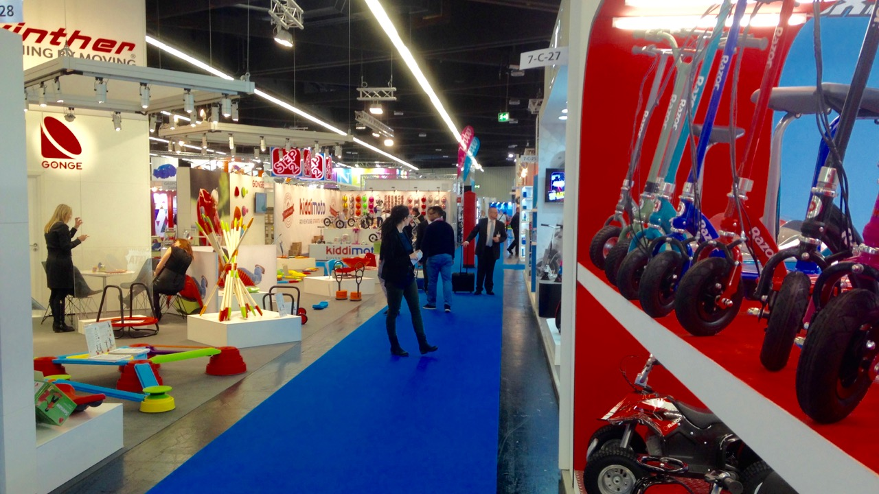 Outdoor, sports, and leisure play fills Hall 8