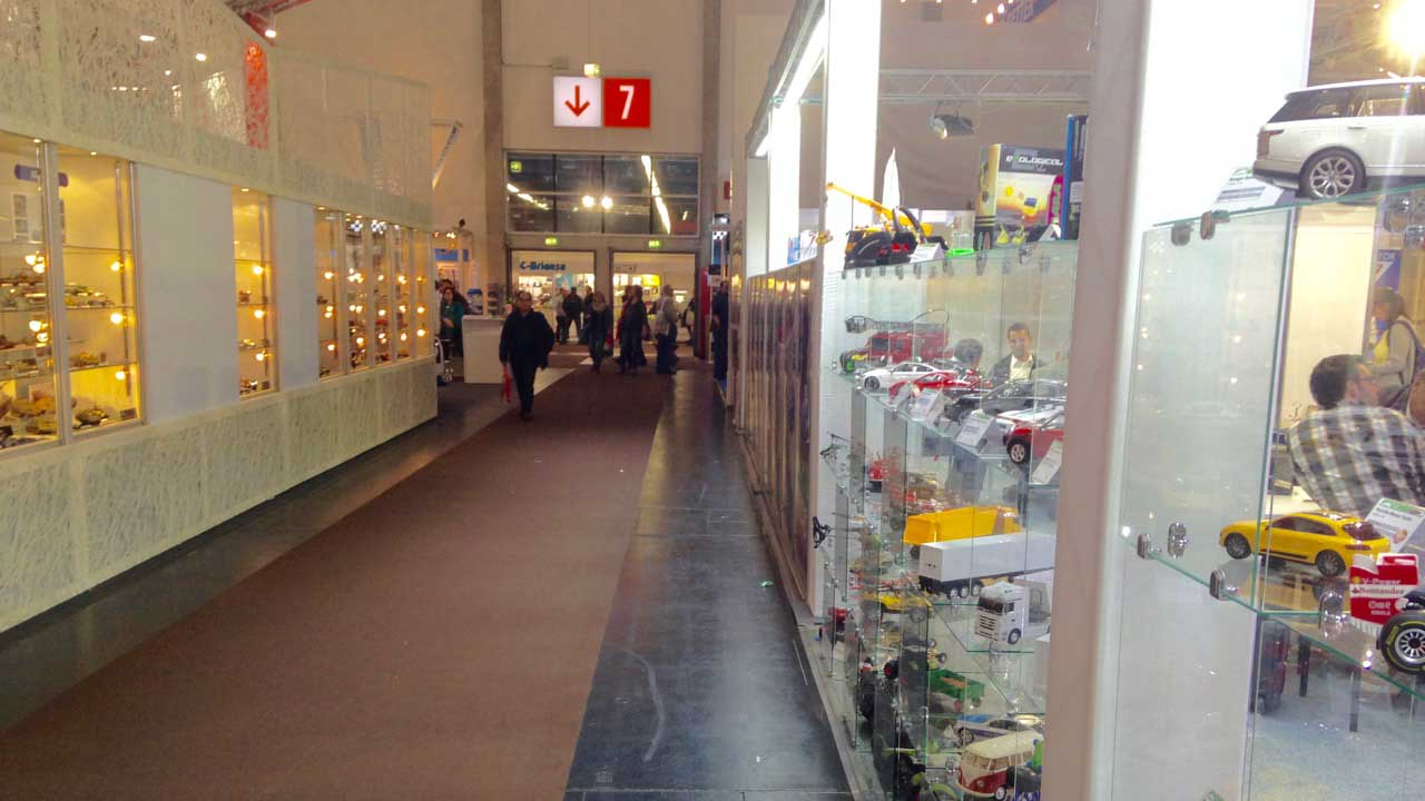 Hall 7 in the models section