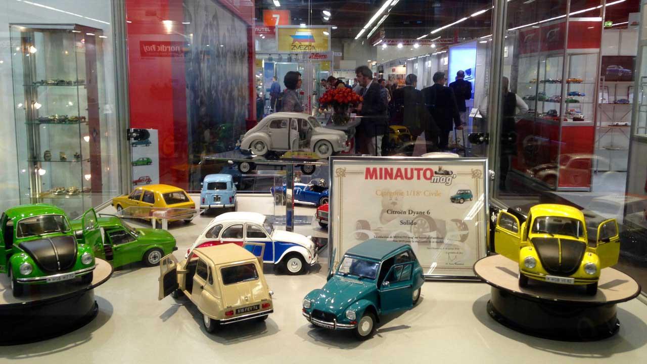 Model die-cast cars