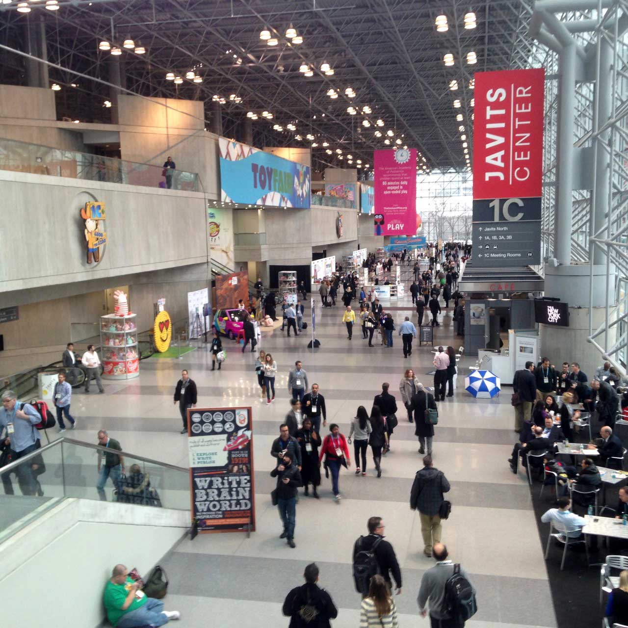 Toy Fair attendance is up compared to 2015