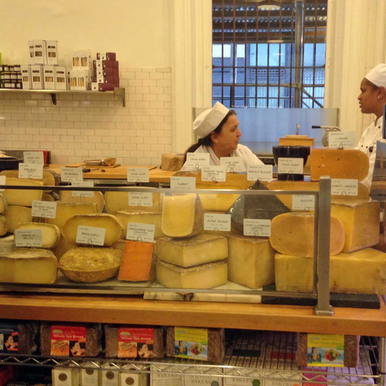 Inside Dean and DeLuca of Soho