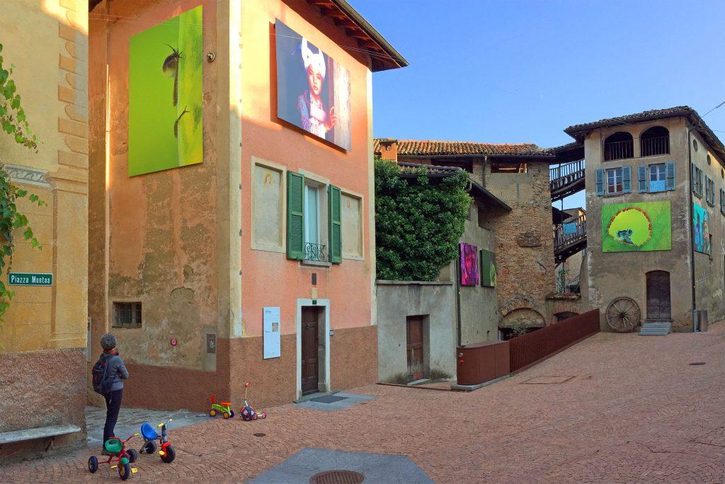 Carona Piazza Montaa Art
