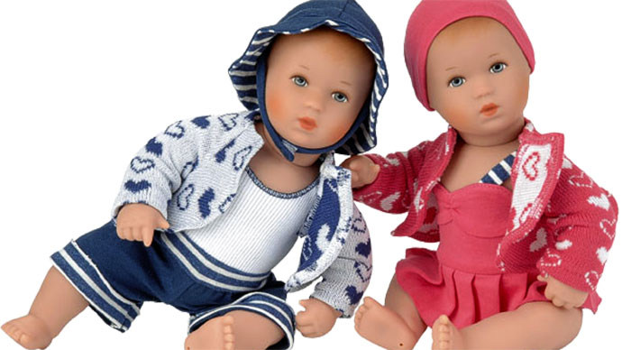 Kathe Kruse baby dolls