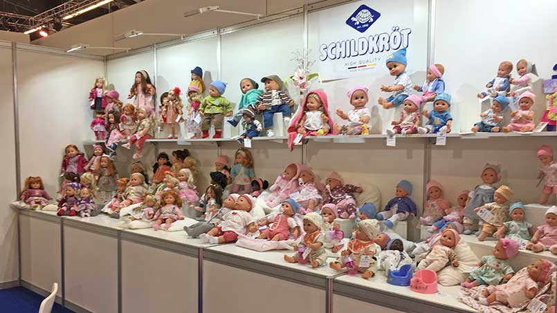 Schildkroet dolls Messe 2019